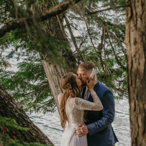 Choosing One Another, a Glacier National Park Elopement