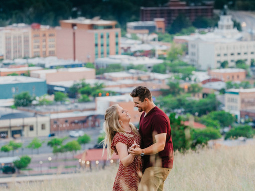 Wild, Joyful, Completely Remarkable Duo & Their Most Missoula Engagement