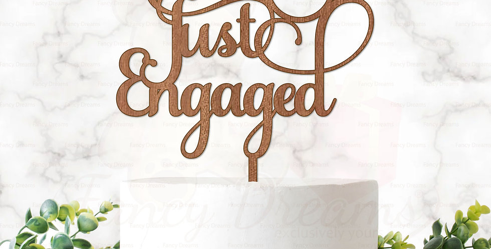 Just Engaged + Ring