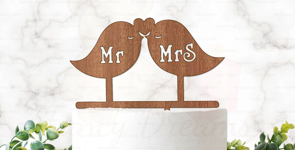 Mr & Mrs in Love Birds
