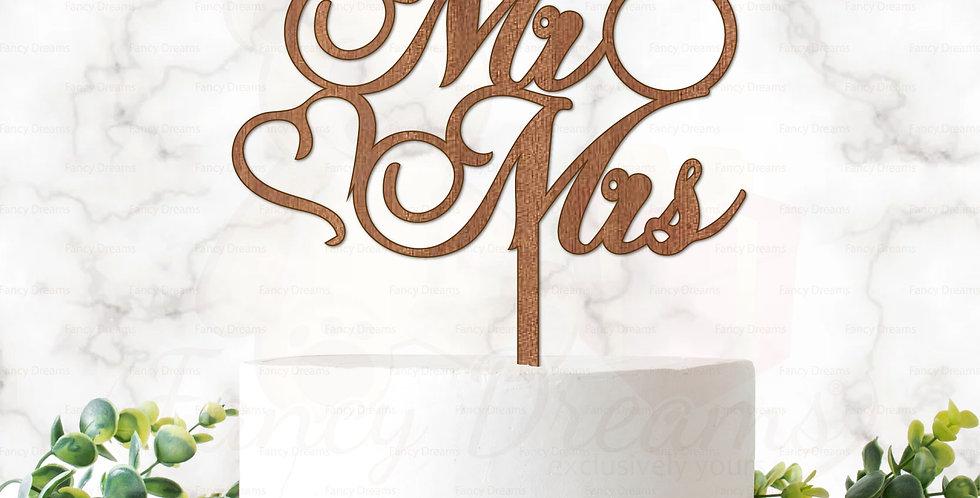 Mr & Mrs + Heart + Ring