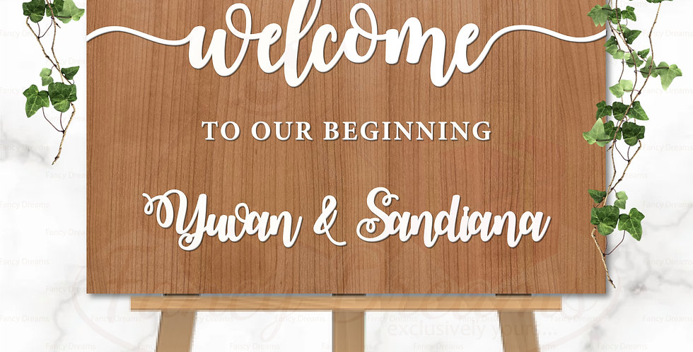 Welcome to our Beginning Board - 3D Premium