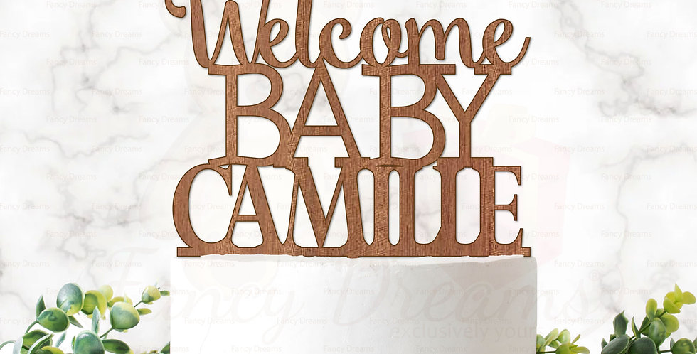 Welcome Baby + Name