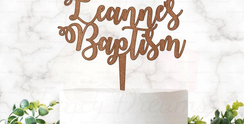 Name + Baptism
