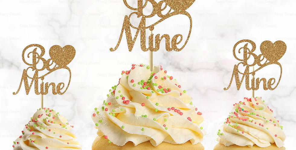 Be Mine + Heart (Pack of 10pcs)