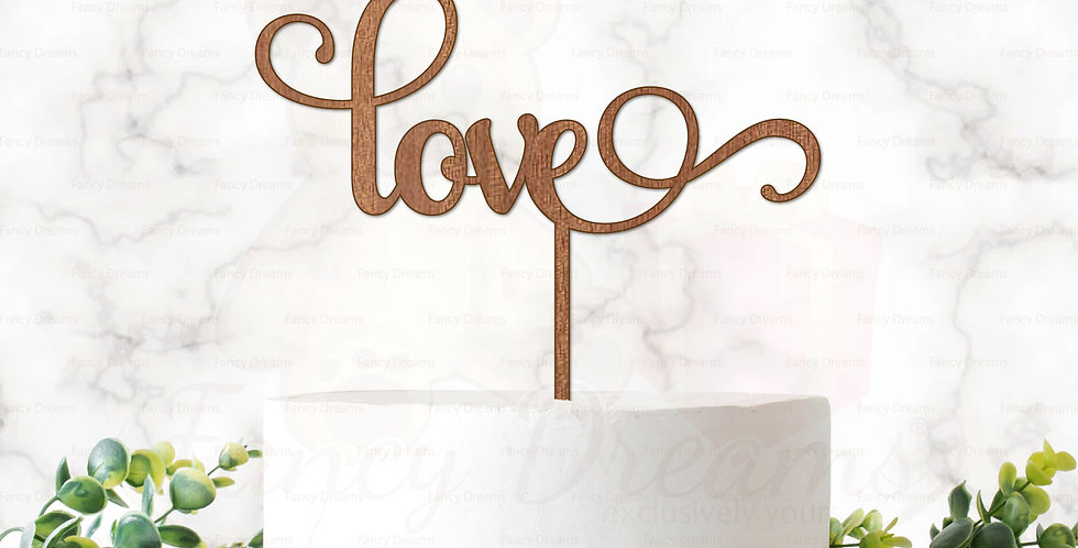 Love, Fancy Font