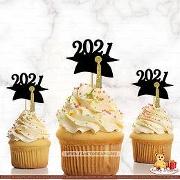 2021 Grad Hat (Pack of 10pcs)