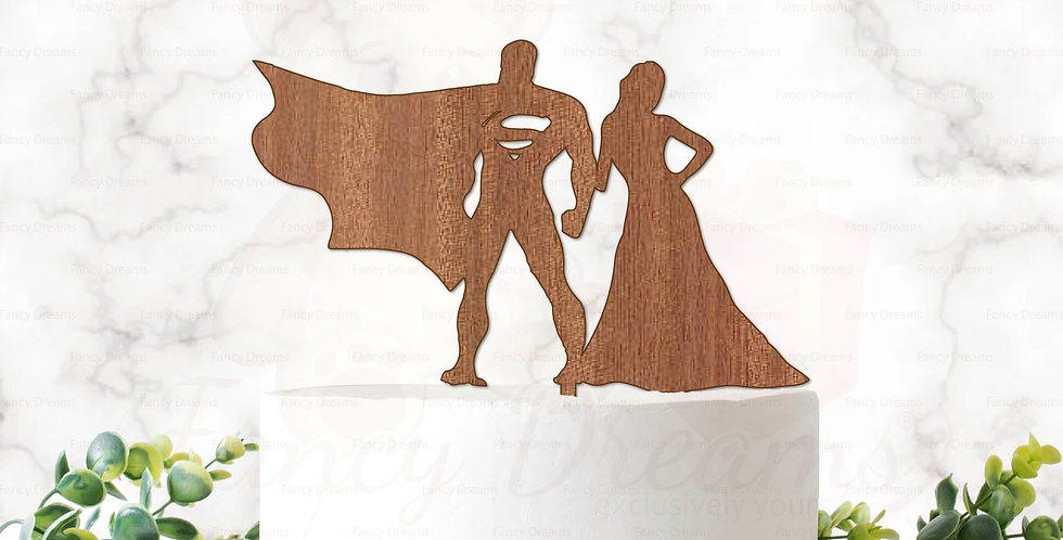 Superhero Theme Couple