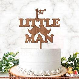 1st Little Man + Moustache