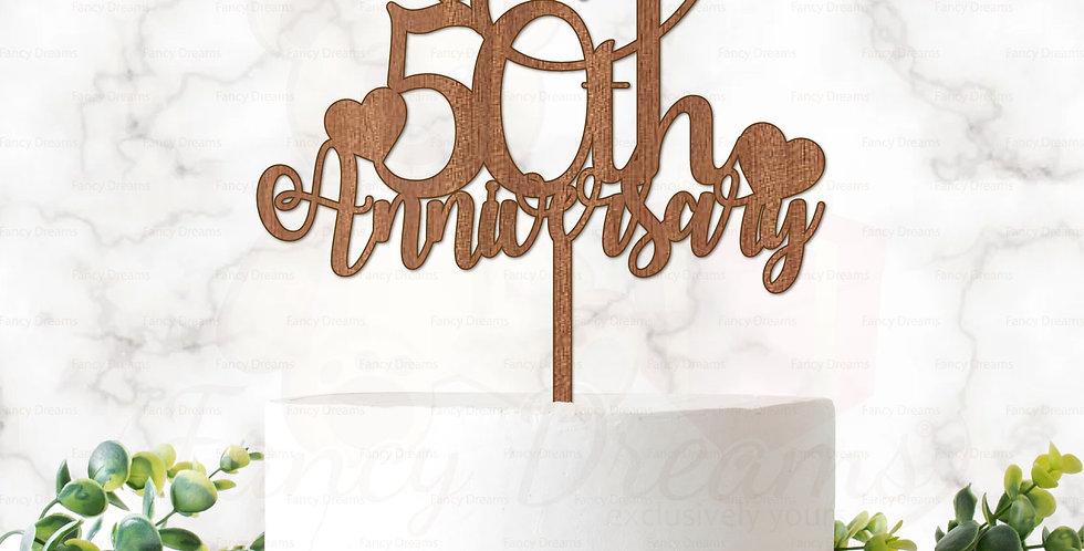 25th, 30th, 35th, 40th, 45th, 50th, 55th, 60th Anniversary