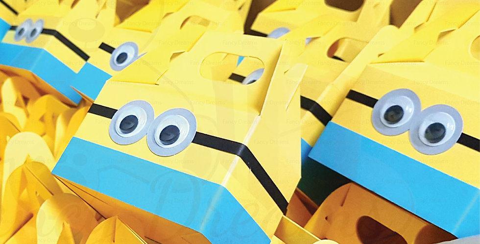 Minions Give-Away Gable Box (10pcs)