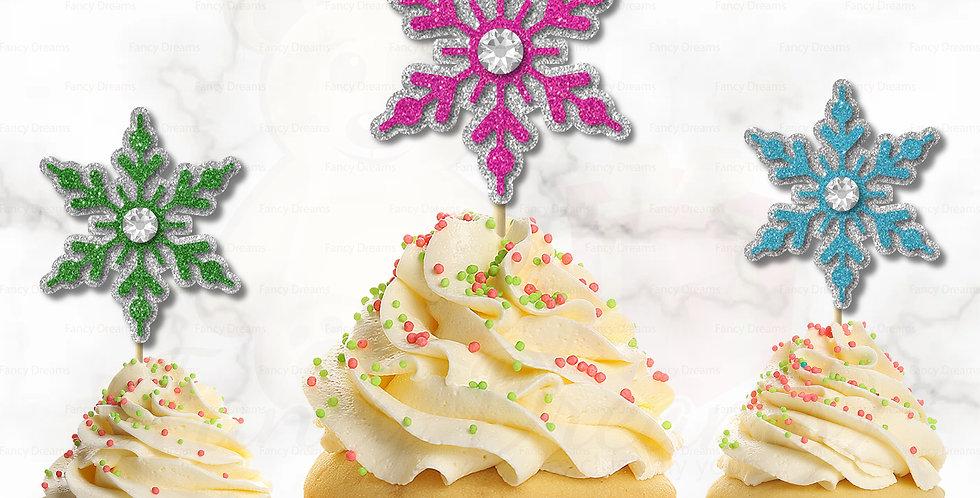 3D Christmas Snowflake (Pack of 10pcs)
