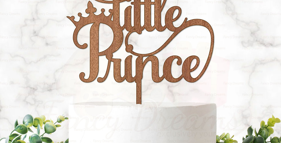 Little Prince + Crown