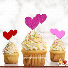 2 Hearts (Pack of 10pcs)