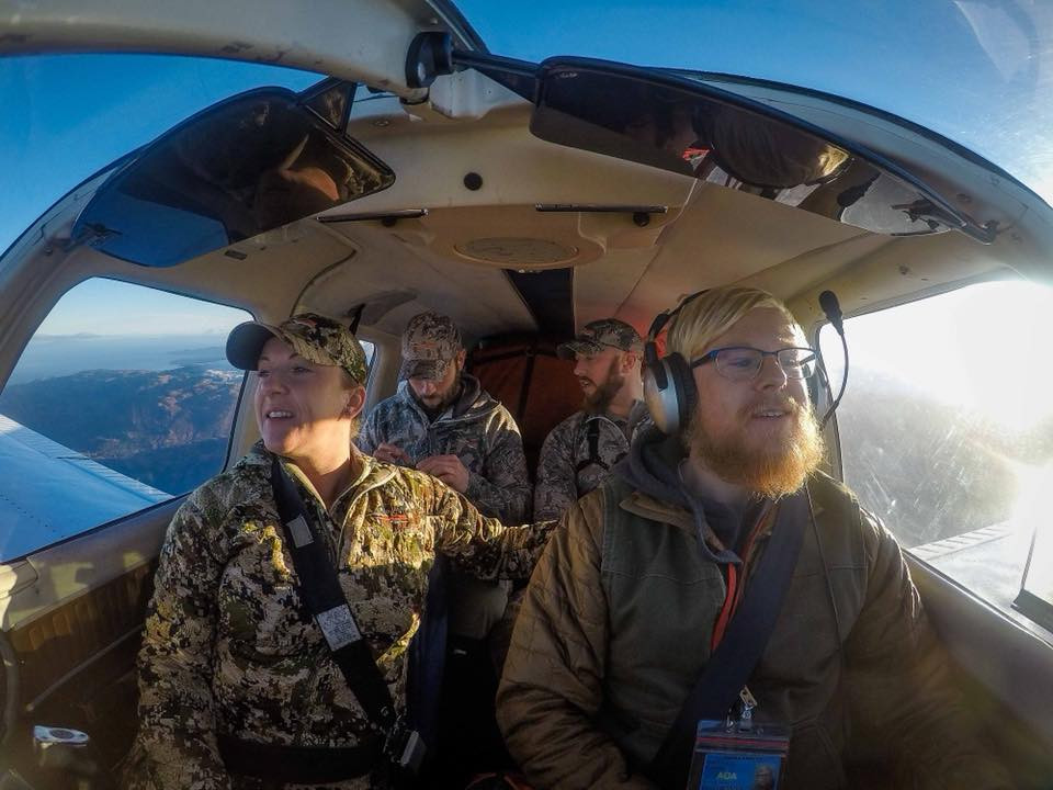 60th Parallel flies to deer camp