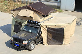 палатка на багажник