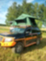 палатки н крышу автомобиля