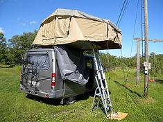 Палатка н автобус