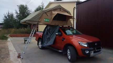 Автопалатка на автомобиль