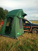 первый этаж для палатки