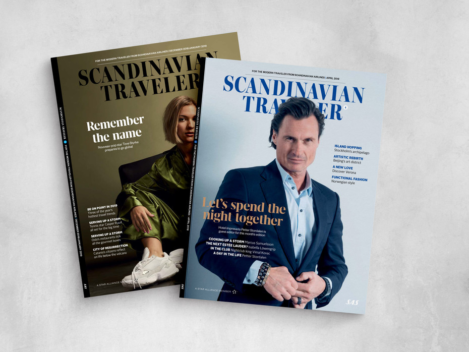 April and December issues