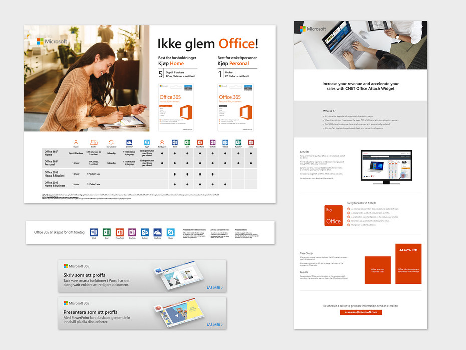 Office digital and print assets