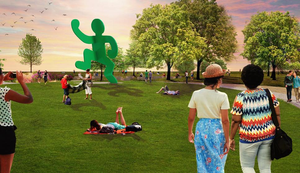 Belmont AIDS Garden Statue.jpg