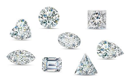 כיצד צורת יהלום משפיעה על מחירו