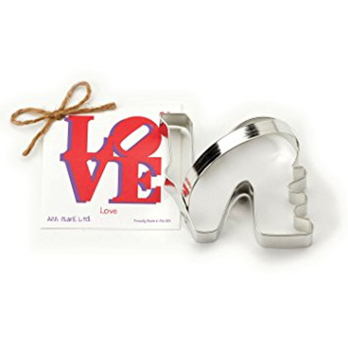 LOVE COOKIE AND FONDANT CUTTER