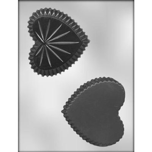 "HEART BOX 4-1/4"" CHOCOLATE MOLD"