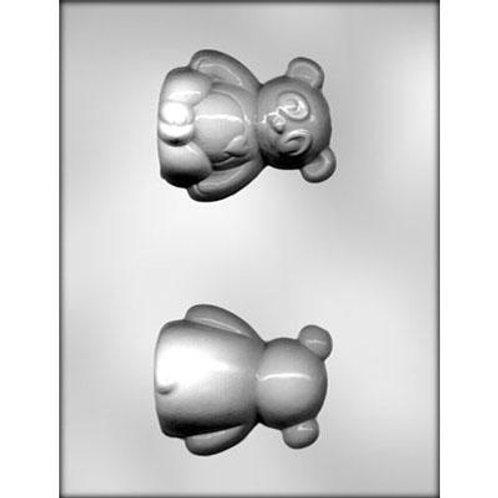 """PANDA 3"""" 3D CHOCOLATE MOLD"""
