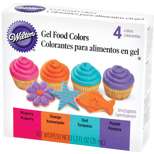 WILTON GEL FOOD COLORS