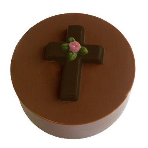 CROSS W/ROSE COOKIE CHOCOLATE MOLD