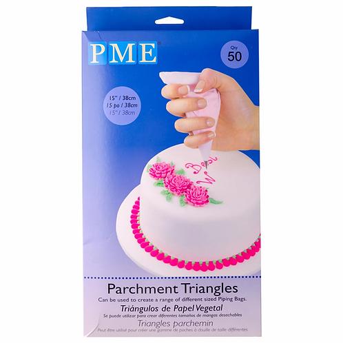 PME Parchment triangles