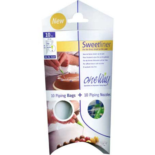 Sweetliner Decorating bag w/nozzle