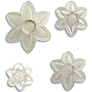 Six Petal Daisy Set of 4