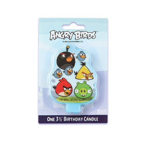 ANGRY BIRDS BIRTHDAY CANDLE