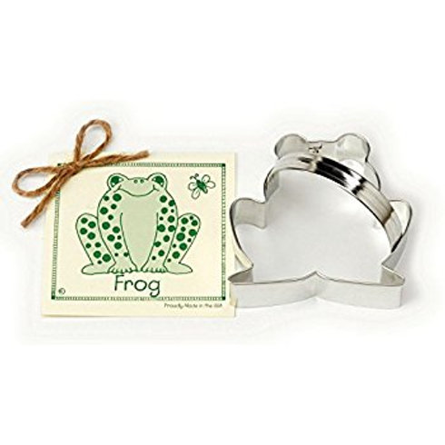 FROG COOKIE AND FONDANT CUTTER