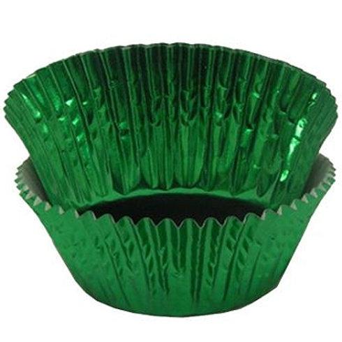 METALIC GREEN STANDARD CUPCAKE LINERS