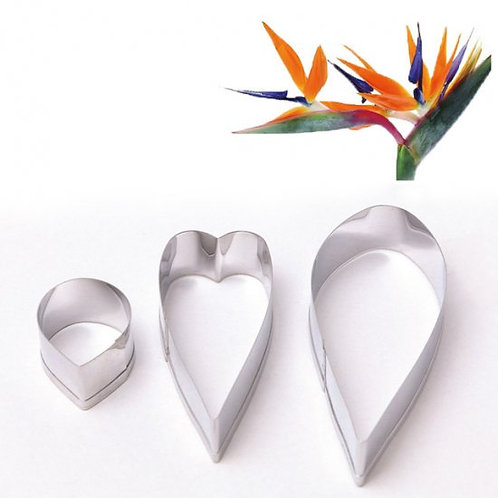 Paradise bird flowers petal cutter