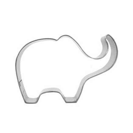 Elephant Stainless Steel Cookie Cutter Cake Mould Tool Sugar Paste Baking Mould