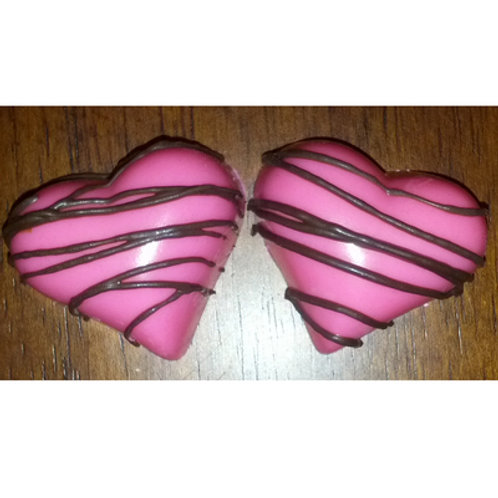 "HEART 1-3/8"" CHOCOLATE MOLD"