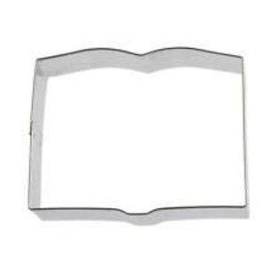Open book cookie cutter