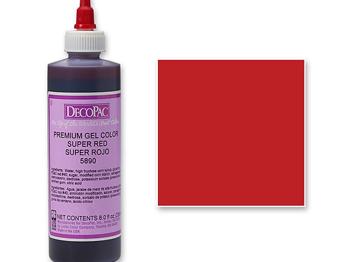 SUPER RED DECOPAC PREMIUM GEL COLOR