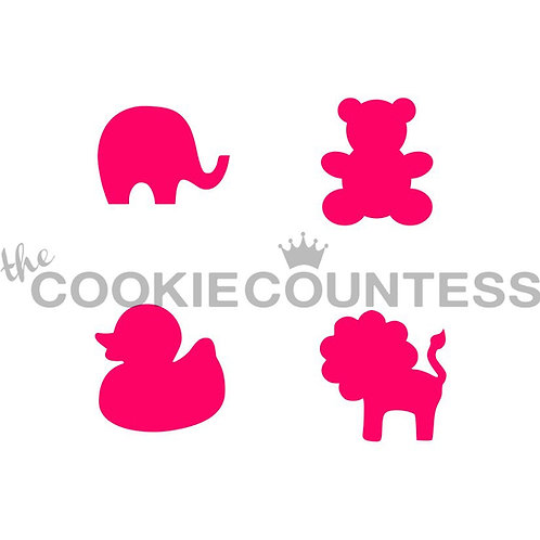 THE COOKIECOUNTESS - CASTLE  STENCIL