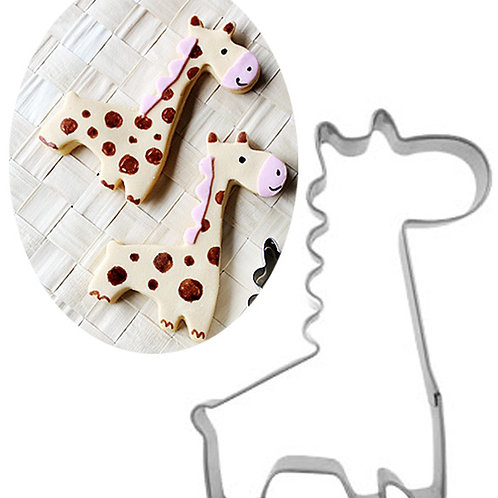 Giraffe Stainless Steel Cookie Cutters Cake Mold