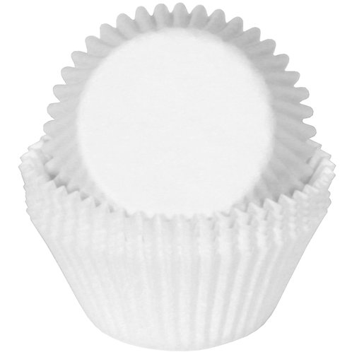 WHITE STANDARD CUPCAKE LINERS