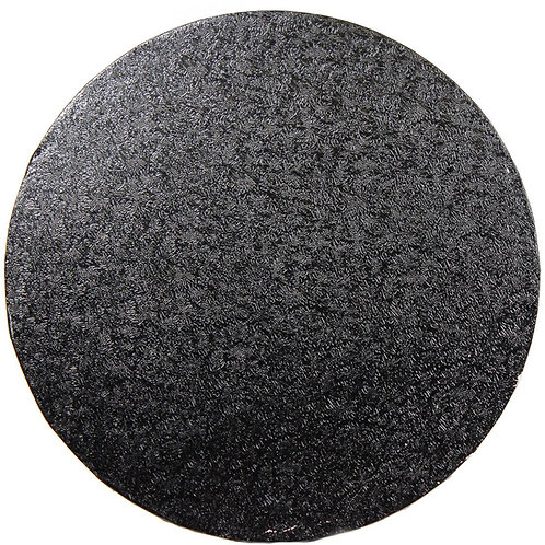 "12""ROUND CAKE WRAP AROUND-BLACK"