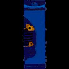 PME Tall Edge Side Scraper/Stripes