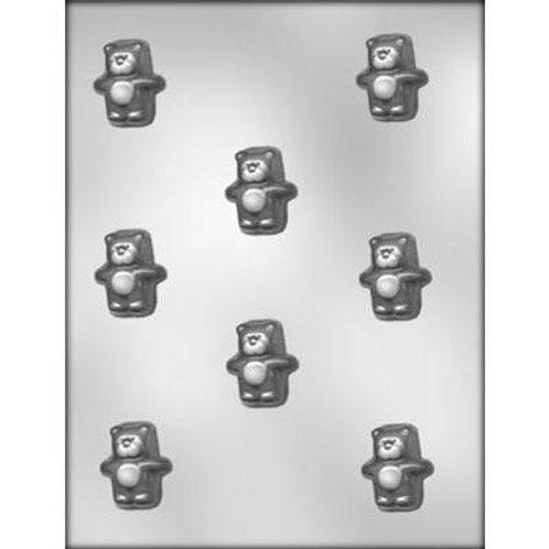 "PUFFY BEAR 1½"" CHOCOLATE MOLD"